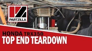 2. Honda Rancher 350 Top End Rebuild Part 1: Engine Teardown | Partzilla.com