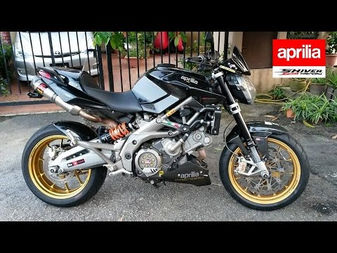 Aprilia Shiver 750 Factory APRC with Akrapovič Exhaust, Decat, CF - Close-up, Startup & Revs! ★★★★★