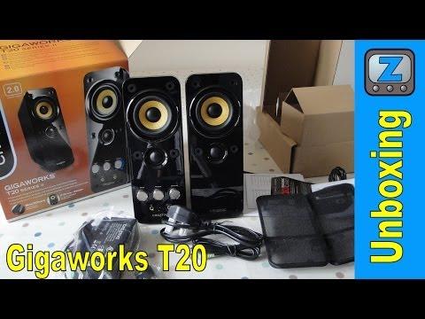Creative Gigawork Computer Multimedia Speaker T20 - CT-T20