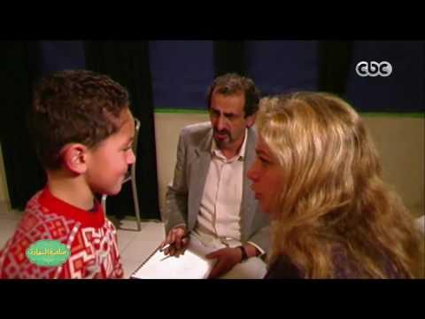 شاهد يوسف عثمان طفلا في كواليس فيلم بحب السيما