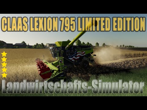 Claas Lexion 795 Limited Edition v1.0