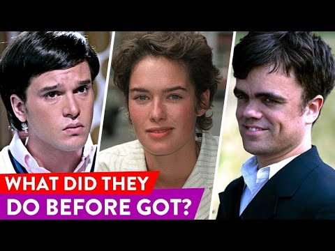 Game of Thrones Cast: Before They Were Stars | ⭐OSSA