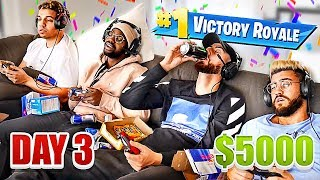 Video Last To Stop Playing Fortnite Wins $5,000 - Challenge MP3, 3GP, MP4, WEBM, AVI, FLV Juni 2019
