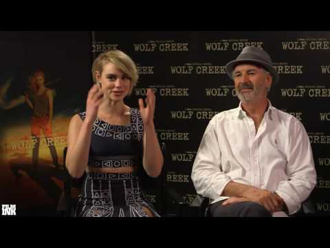 Interview: John Jarratt And Lucy Fry (Wolf Creek)