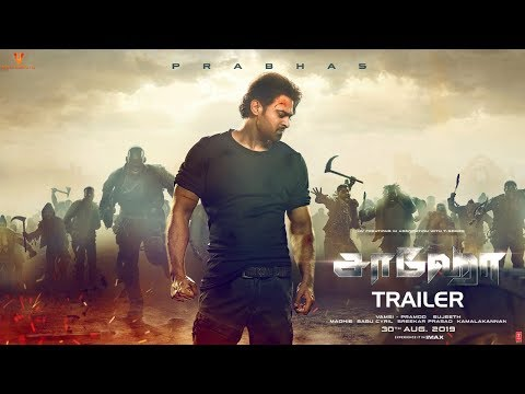 Saaho Tamil movie Official Trailer Latest