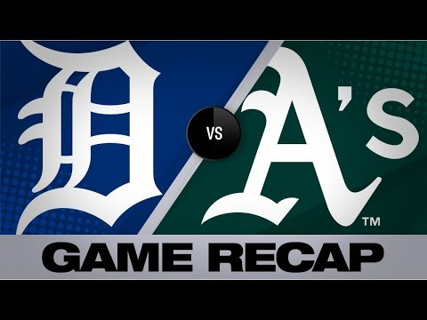 Video: Manaea, Davis lift A's to 3-1 win vs. Tigers   Tigers-Athletics Game Highlights 9/8/19