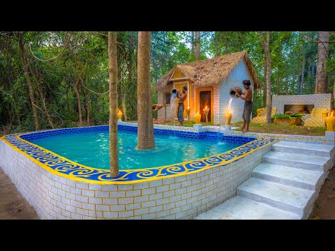 Build Billionaire Swimming Pool for Jungle Residence Villa House