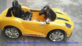 Xe ô tô điện trẻ em Porsche YH-805 giảm ❷❺-❹❺%. Bongkids.com số ❶ về xe ô tô trẻ em. Giá rẻ - Chính hãng - Giao tận nơi - Miễn phí đổi hàng Số 14 ngách 30 ng...