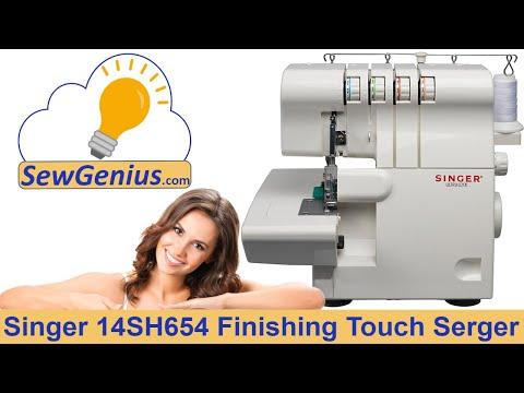 Singer 14SH654 Finishing Touch Serger Instructional Video