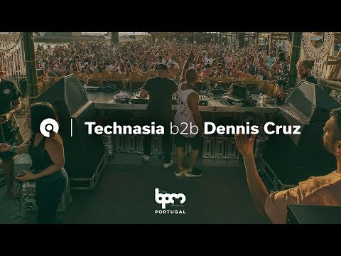Technasia b2b Dennis Cruz @ The BPM Festival Portugal 2018 (BE-AT.TV)