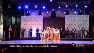 Ballet Folklorico de la Universidad de Colima, en San Gabriel 2015