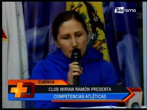 Club Mirian Ramón presenta competencias atléticas