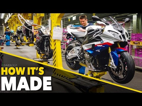 BMW S1000RR + BMW Bikes Production | HOW ITS MADE Supersport BMW Motorcycles
