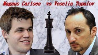 Partite Commentate di Scacchi 128 - Carlsen vs Topalov - Sacrifici à Gogo - 2012 [B51]