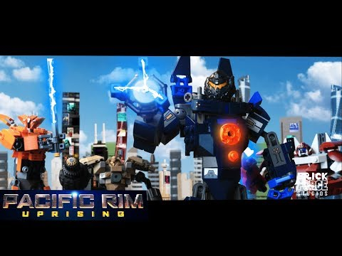 PACIFIC RIM : Uprising in LEGO! Trailer stop-motion