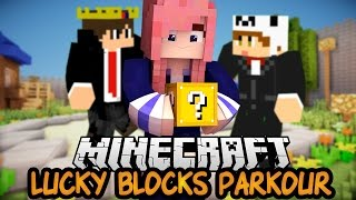 Easy Peasy?!   Ep. 1   Lucky Block Parkour PVP Map