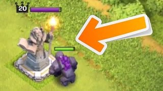 Video Clash of Clans - NEW STATUE DEFENSE GAMEPLAY! Town Hall 11 Grand Warden Update (CoC Grand Warden) MP3, 3GP, MP4, WEBM, AVI, FLV Mei 2017