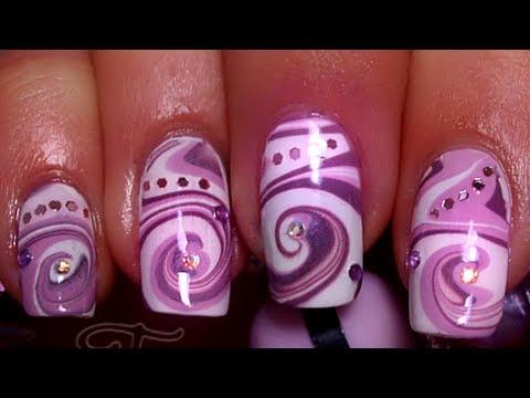 nail art - effetto spirale