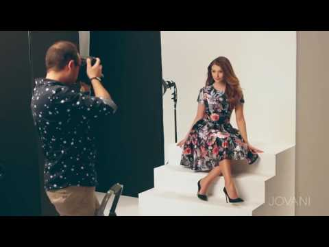 Jovani Short and homecoming Dresses Behind the Scenes