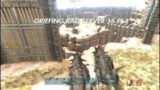 Ark Small Tribe Ps4 PvP Raid Griefing Ragnarok Server 15 Ps4