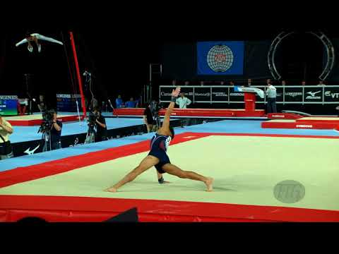 Moldauer Yul (usa) - 2017 Artistic Worlds, Montréal (can) - Qualifications Floor Exercise
