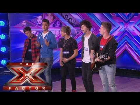 UK - Visit the official site: http://itv.com/xfactor Overload are Ollie, Joey, Andy, Jordi and Ryan and they have only been together for three months. Will that be enough time to impress the Judges...