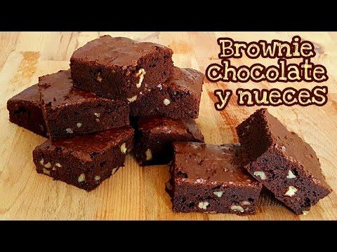 Brownie de chocolate y nueces | Mi tarta preferida
