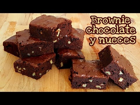 Brownie de chocolate y nueces | Mi tarta preferida