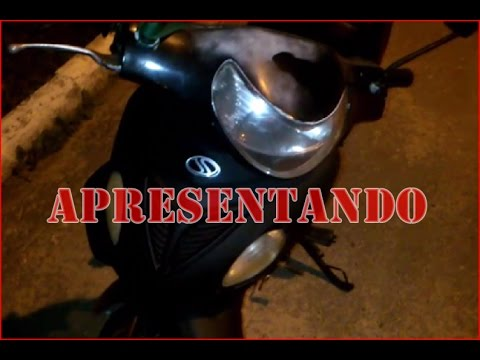 Apresentando a moto do canal - Sundown web 100