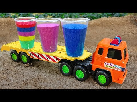 Excavator, Fire Truck, Police Cars Toy Vehicles for Kids