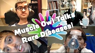 Muscle Owl Talks Ep36: Rare disease, diagnosis, and self identity