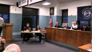 Town of Stony Point Board Meeting March 24 2015