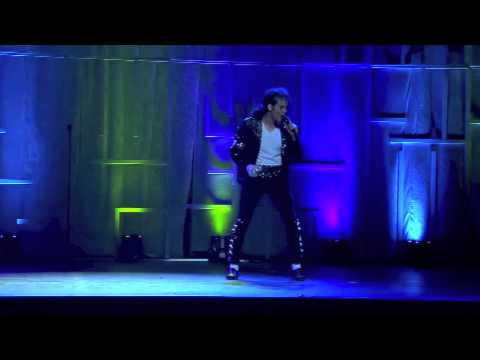 Michael Jackson Impersonator MJ THE LEGEND at Club Nokia in Los Angeles for LA Lakers