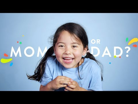100 Kids Admit Which Parent They Like Best