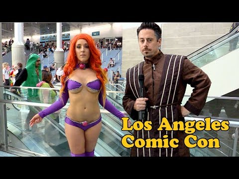 Los Angeles Comic Con Best Cosplay 2017