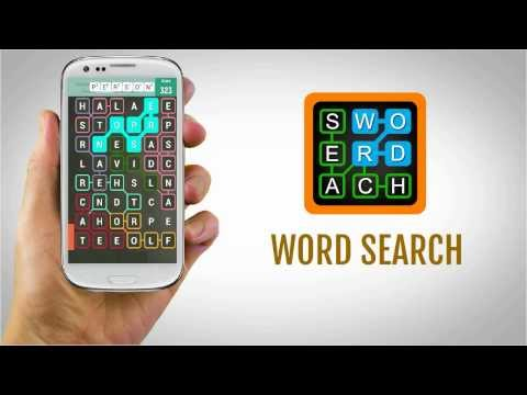 Video of Word search puzzle