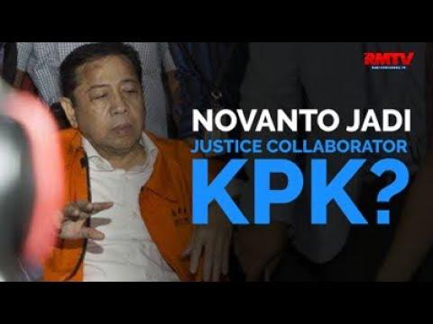 Novanto Jadi Justice Collaborator KPK?