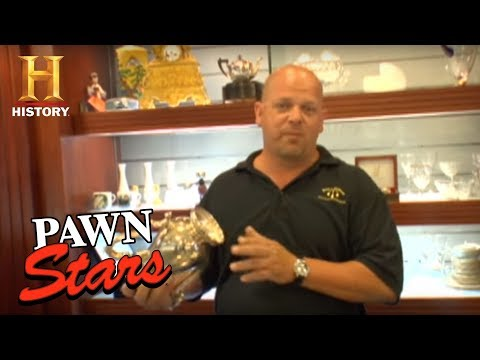 Pawn Stars: How To if Silver is Fake or Real? | History