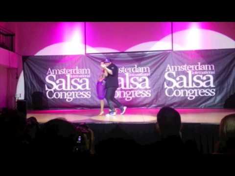 Caramelo Pedrinho & Linda Brazilian Zouk Show at AISC 31Oct2015