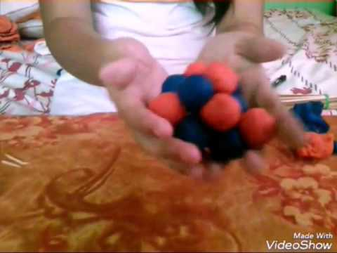 How to make a 3D ATOMIC MODEL - Oxygen
