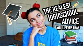 The REALEST High School Advice You'll EVER Hear ! by Simplynessa15