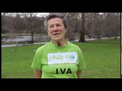 Oldest Female London Marathon Runner talks about running for Whizz-Kidz