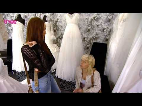 Sian's Dress Reveal - Don't Tell the Bride - Episode 11 - BBC Three