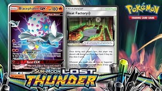 Opening a Pokemon Lost Thunder Booster Box