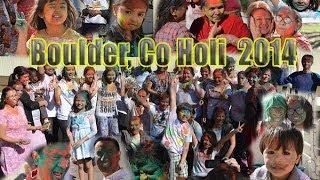 Boulder Colorado Holi 2014