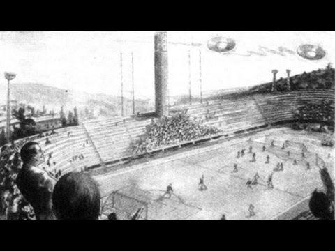 la partita di calcio sospesa per colpa degli ufo