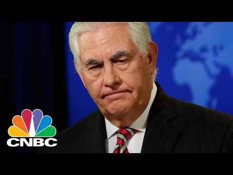 Rex Tillerson To Be Replaced As Secretary Of State: NYT | CNBC