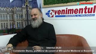Interviul Zilei-invitat: pr. Constantin Sturzu, purtatorul de cuvant al MMB Iasi