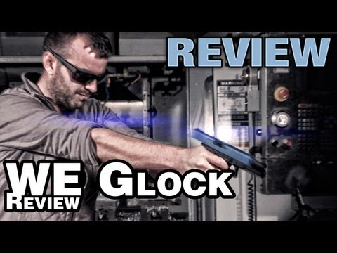 WE Glock 17 2Tone GBB Airsoft Pistol – EpicAirsoftHD Review – Part 2