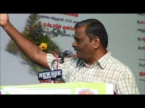 Tamil Selvan Speech – Perambalur Book Fair 2014